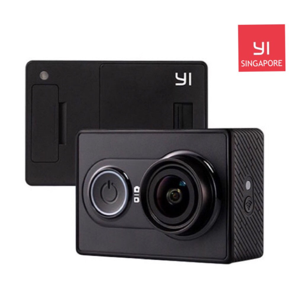 Xiaomi Yi Action Camera Standard Set Official Singapore Version