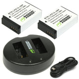 Wasabi Power Battery Set for Canon LP-E12 - ProPlus