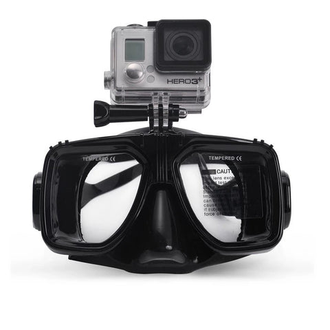Dive Mask for GoPro, SJCam, Xiaomi Yi - ProPlus