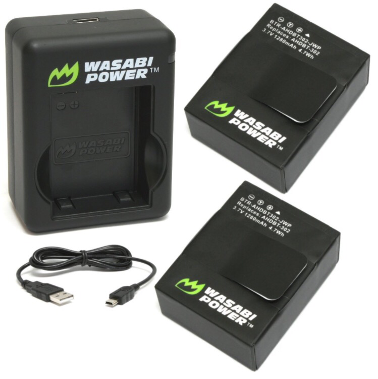 Wasabi Power GoPro Hero 3/3+ Battery Set - ProPlus