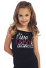 Live Love Dance Sequin Cami Top