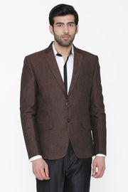 100% Linen Brown Blazer