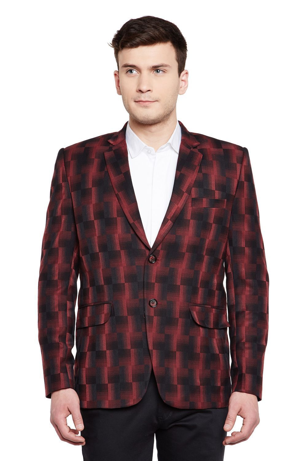 Imported Rayon Red Blazer