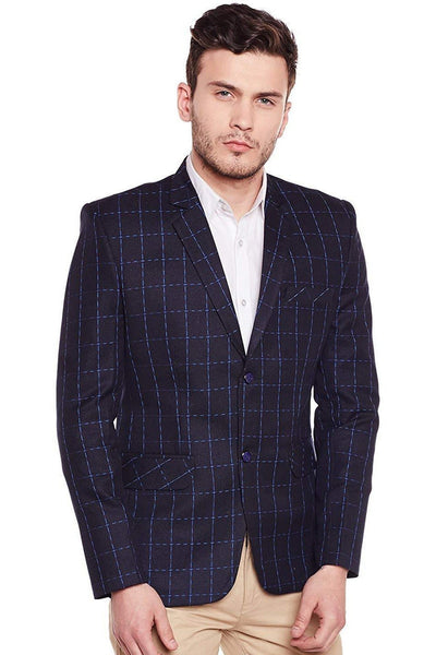Imported Rayon Blue Blazer