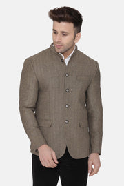 Tweed Brown Blazer