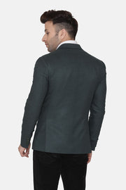 Wool Green Blazer