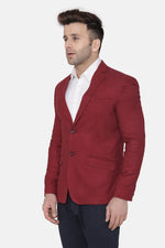 Wool Red Blazer