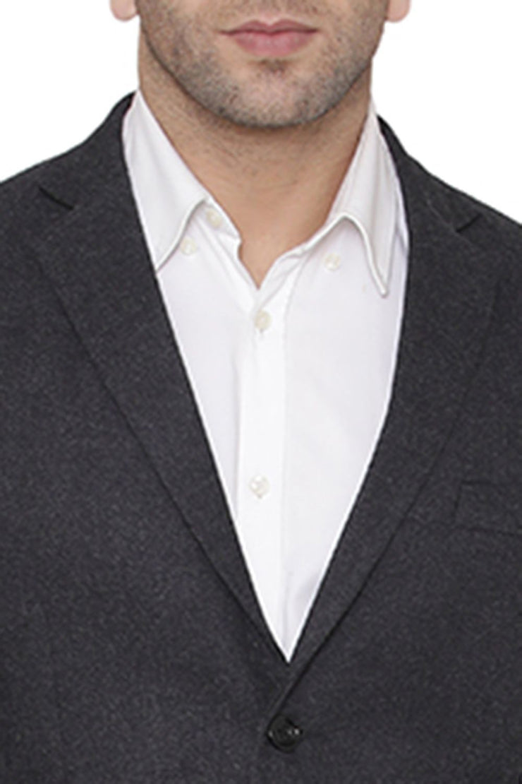 Wool Grey Blazer