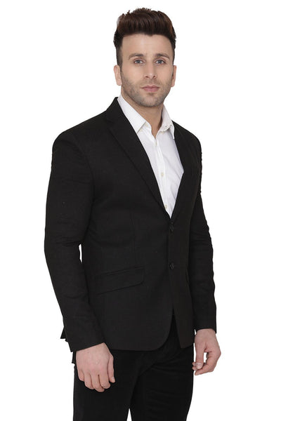Wool Black Blazer