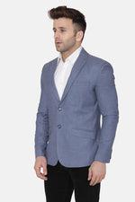 Wool Blue Blazer
