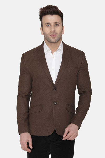Wool Brown Blazer