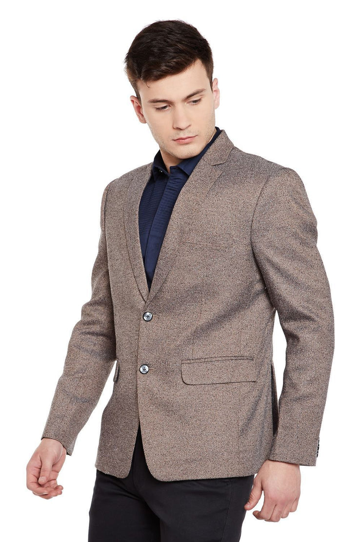 Imported Rayon Brown Blazer