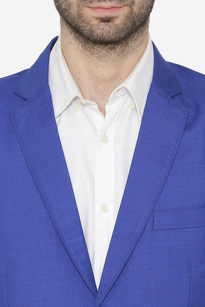 Polyester Cotton Blazers - Blue