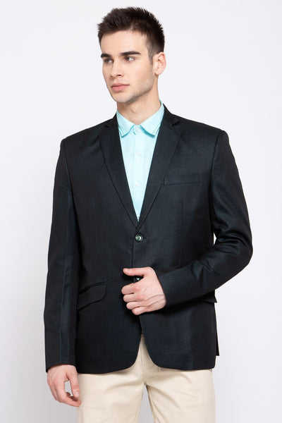Wintage Men's Poly Blend Formal and Evening Blazer Coat Jacket : Green