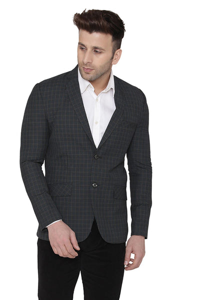 Cotton Black Blazer
