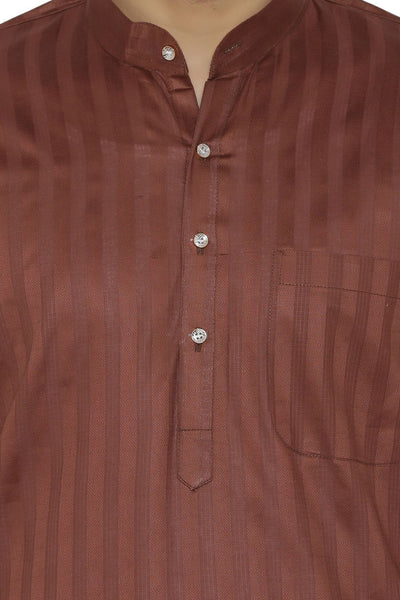 100% Cotton Red Kurta Pyjama