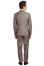 Poly Viscose Grey Suit