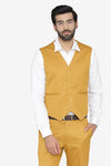 Polyester Cotton Brown Waist Coat