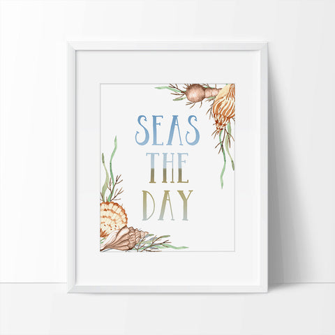 Seas the Day Printable Wall Art - Printable Haven