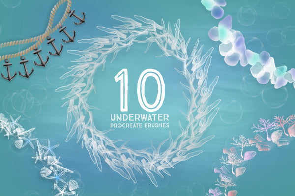 10 Underwater Decorative Brushes