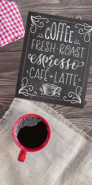 Chalkboard Coffee Fresh Roast Art Print - PrintableHaven  - 4