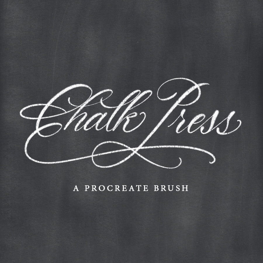 Chalk Press Brush - PrintableHaven