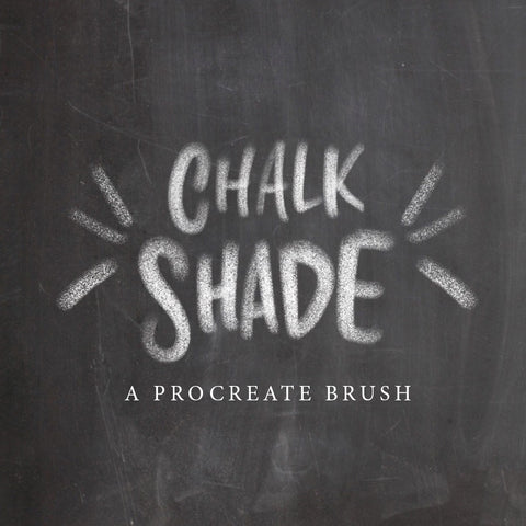 Chalk Shade Brush - PrintableHaven