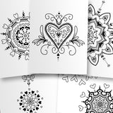 Hearts Coloring Pages - PrintableHaven  - 2