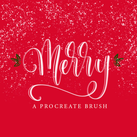 Merry Brush - PrintableHaven