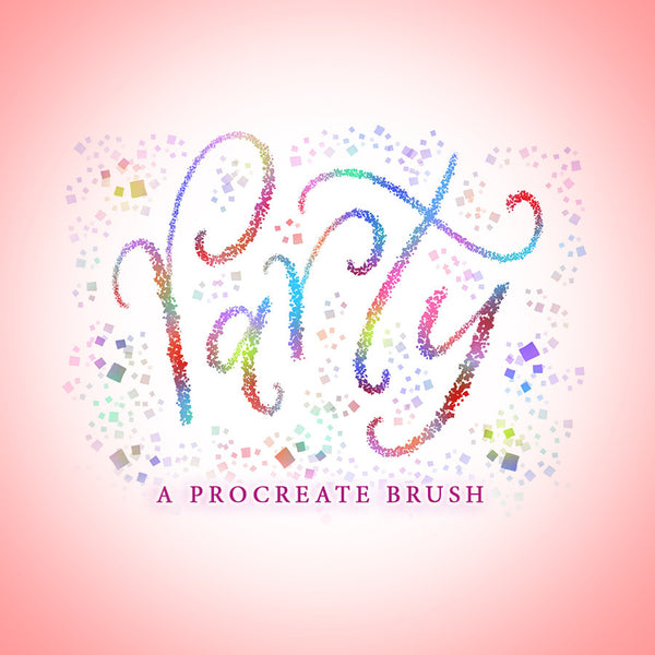 Party Brush - PrintableHaven
