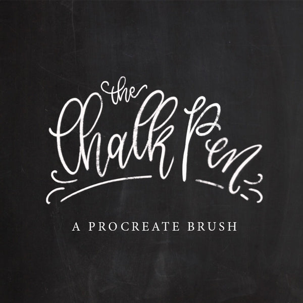 Chalk Pen Brush - PrintableHaven