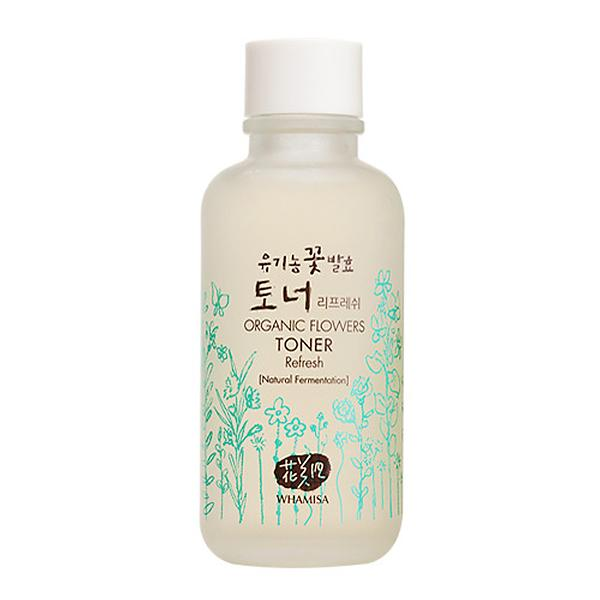 WHAMISA Organic Flowers Refresh Essence Toner 120ml