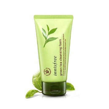 INNISFREE Green Tea Cleansing Foam 150ml, korean cosmetics