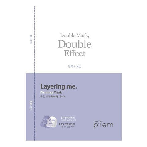 MAKE P:REM Layering me. Firming Double Mask (2pcs)