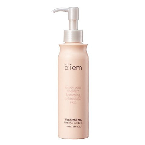 MAKE P:REM Wonderful Me. In-Shower Face Mask 180ml