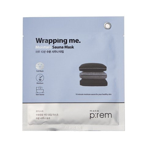 MAKE P:REM Wrapping me. Moisture Sauna Foil Mask (3pcs)