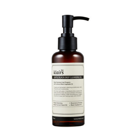 KLAIRS Gentle Black Deep Cleansing Oil 150ml