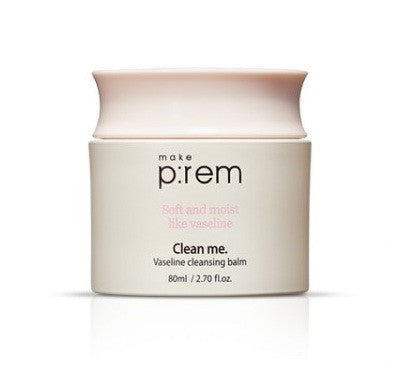 MAKE P:REM Clean me. Vaseline cleansing balm 80ml