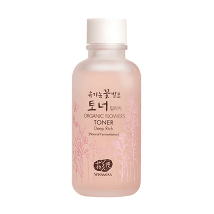 WHAMISA Organic Flowers Deep Rich Essence Toner 120ml