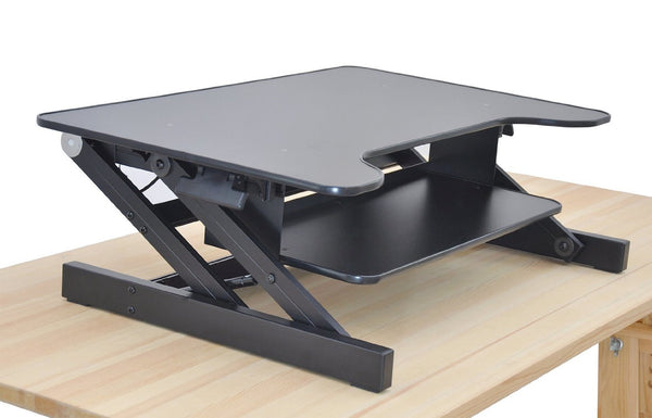 Rocelco Adjustable Height Standing Desk Riser - standing desk
