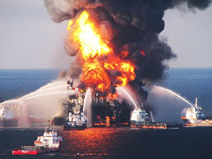 BP Deep Water Horizon Explosion