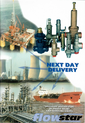 Early Flowstar Brochure from around 2001