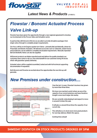 Latest News & Products Flyer - 21/06/21