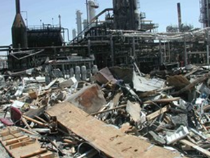 Oil Refinery Explosion