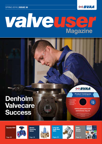 Valve User Magazine - Issue 36 - Front Cover - Berluto Reducing Valves
