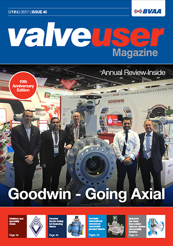 ValveUser - Issue 40 - Flowstar Stock Bailey G4 Reducing Valve