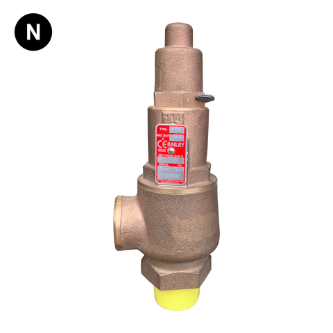 Bailey 480 Cartridge Assembly Relief Valve