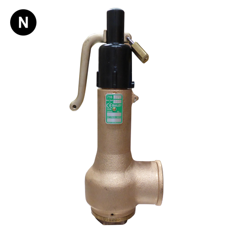 Bailey 716 Safety Relief Valve - Flowstar (UK) Limited