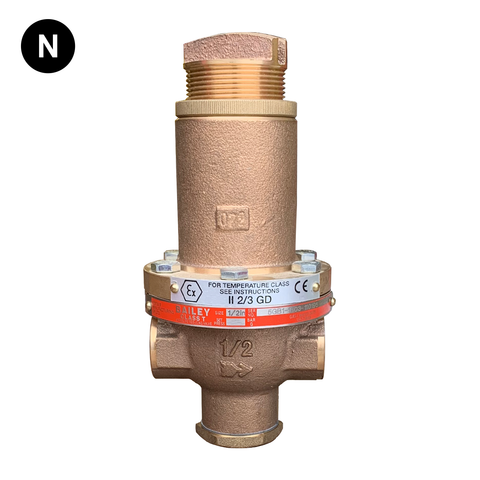 Bailey Class T Pressure Reducing Valve