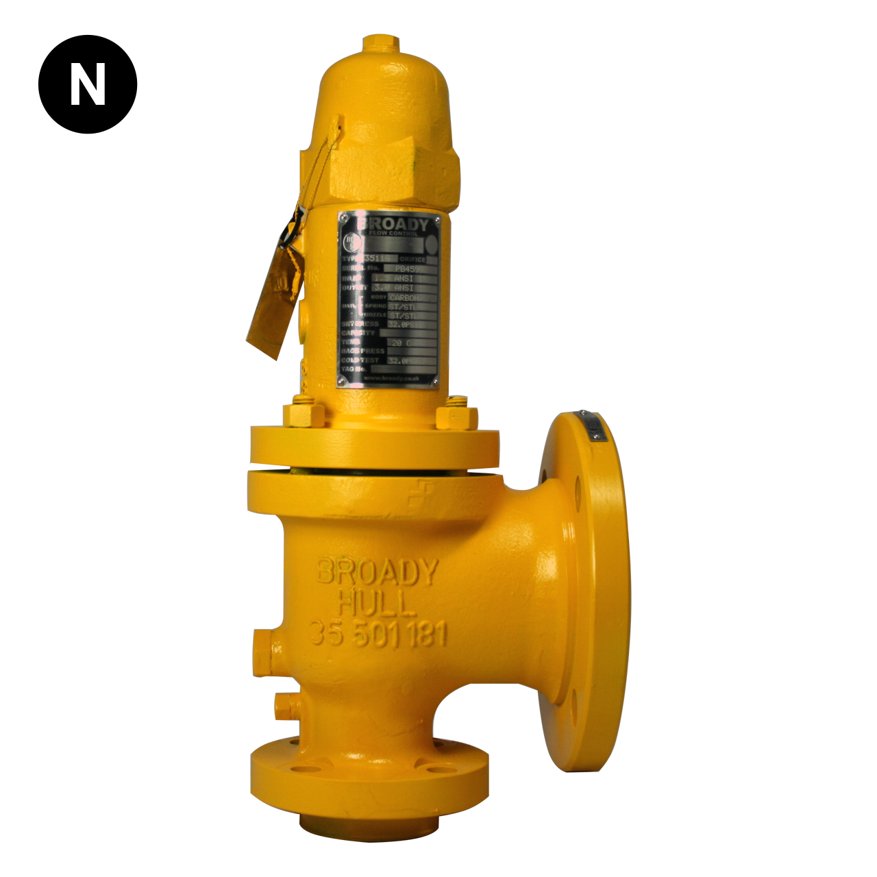 Broady 3500 Safety Relief Valve – Flowstar (UK) Limited